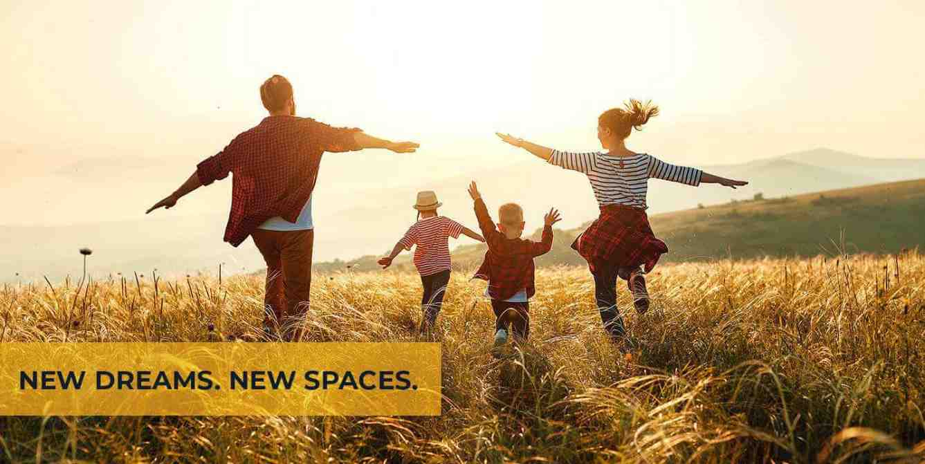 New Dreams, New spaces - Sunpure Homes