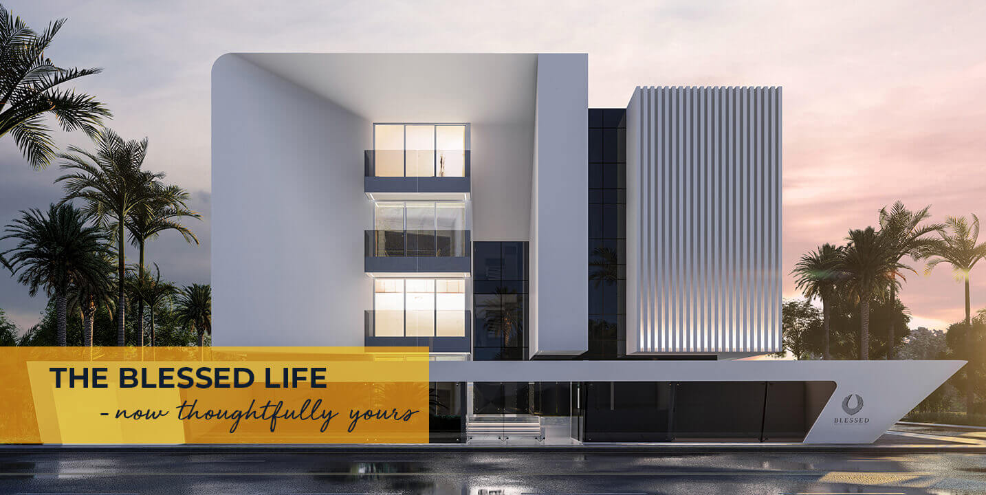 The Blessed life Villa Like Appartments by Sunpure Homes